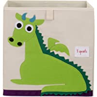 3 Sprouts Storage Box - Dragon, Green, 1 Count