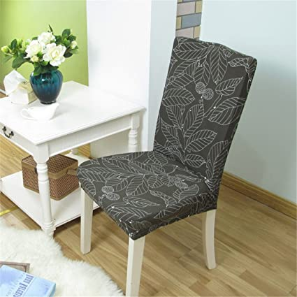 Amazon.com: Chair Cover Spandex Stretch Dining Machine Washable For ...