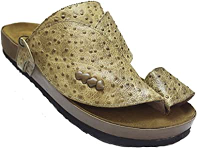 Nebras slippers brown for men