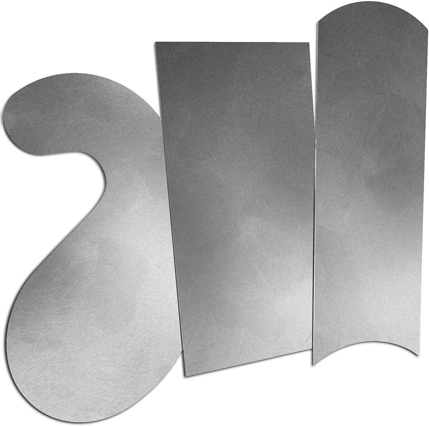 ATLIN Card Scraper Set – 3pc Cabinet Scraper Set
