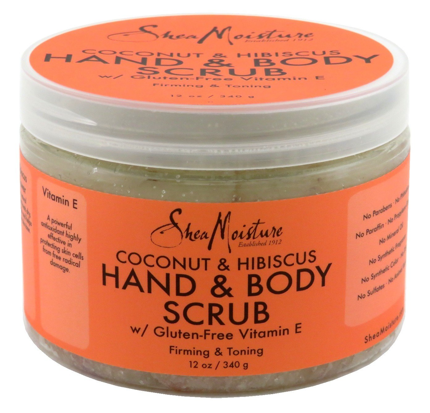 Shea Moisture Body Scrub Coconut and Hibiscus by Shea Moisture B00A2WHOD2