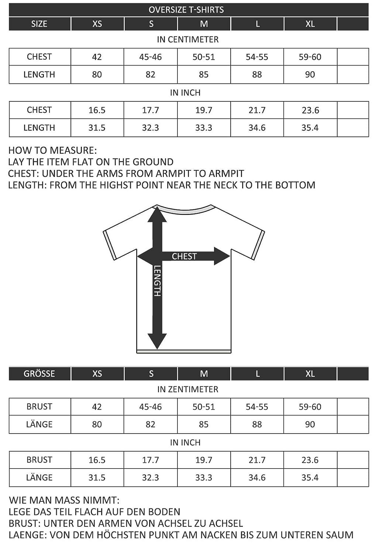 Blackskies Round Basic Camiseta Larga Oversize Moda Manga Larga Hombres T-Shirt Long tee Gris Large L