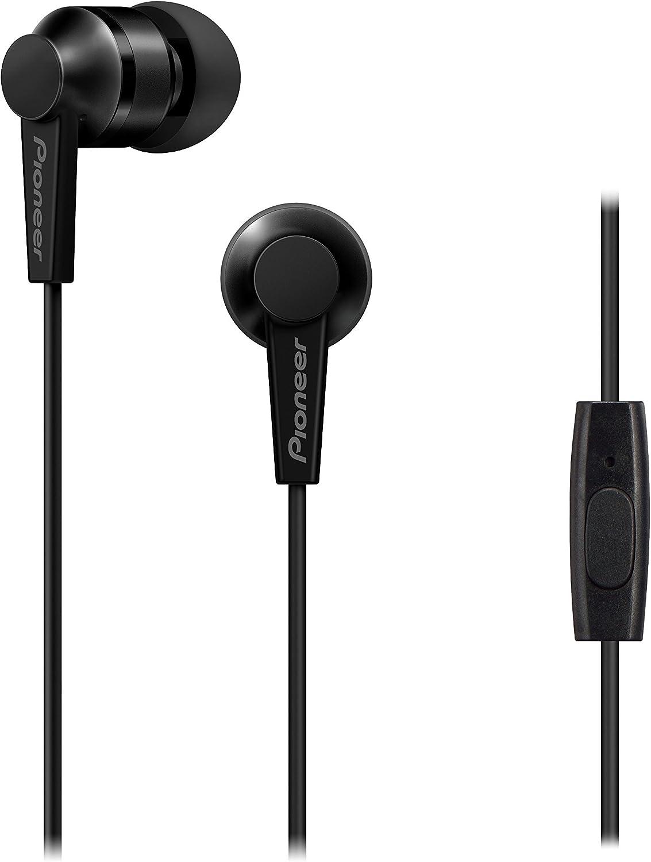 Pioneer SE-C3T-B Black in-Ear Headphones