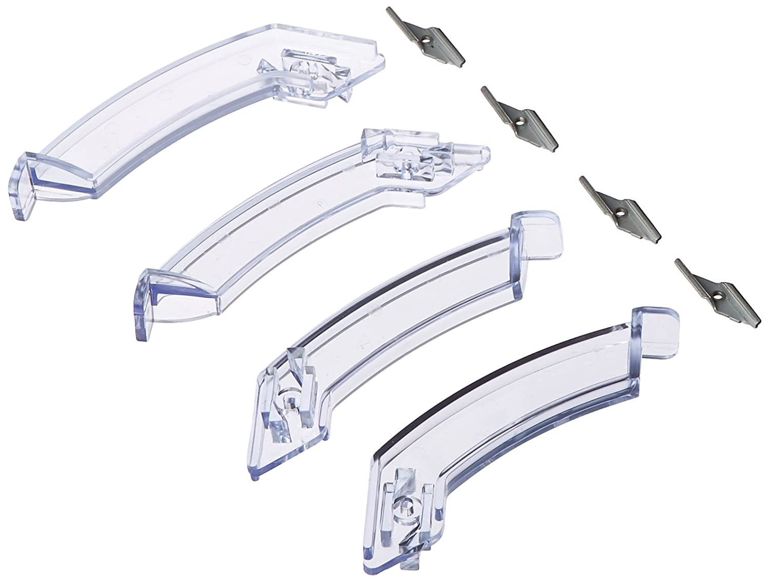 Coralife Aqualight Mounting Legs, Clear