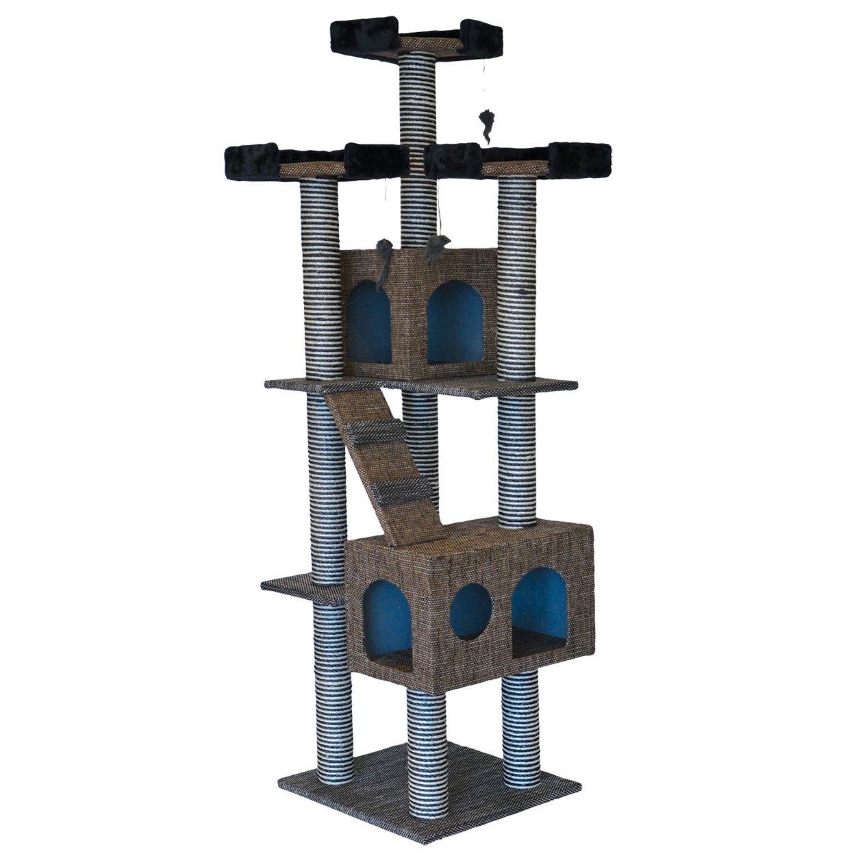 Animal Treasures 14854 Cat Tree Tower Scratcher, 72