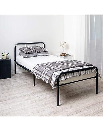 afd6d55bd176 Home Treats Black Metal Curved Bed Frame 3ft Single. Bedroom Furniture  Ideal For Kids,