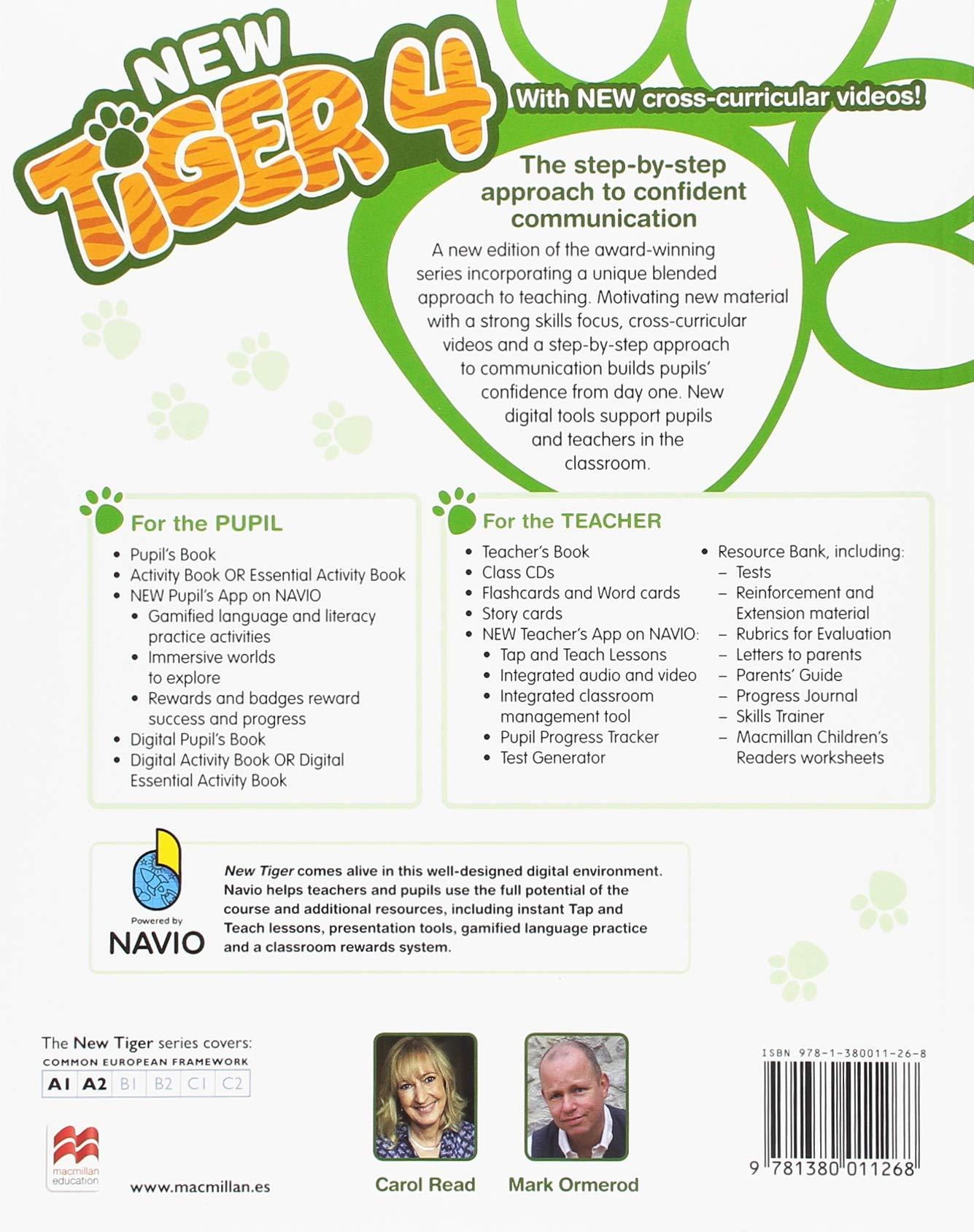 NEW TIGER 4 Ab Pk: Amazon.es: Read, C., Ormerod, M.: Libros en idiomas extranjeros