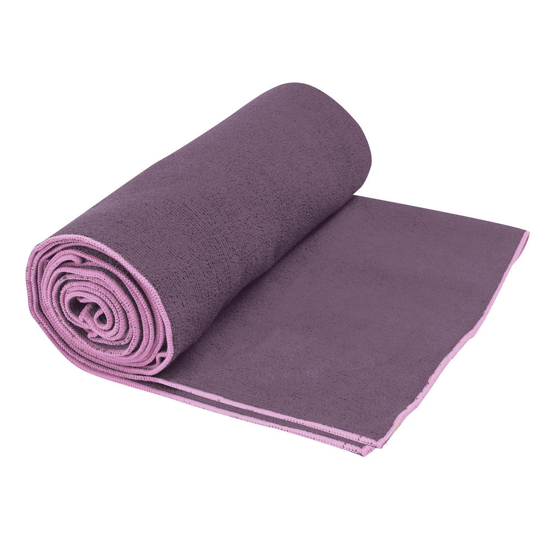 yoga hot design black whipstitch mandala towel mat lab