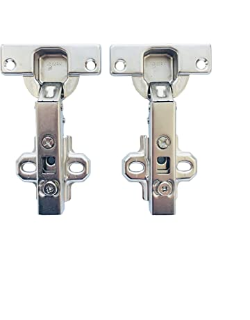 12 Stk 5,5cm x 3,3cm Metall klappbar Möbel Kabinet Türband Türangel Scharnier