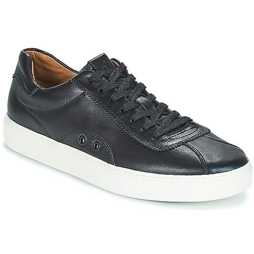 Polo RALPH LAUREN Court 100 Zapatillas Moda Hombres Negro - 40 - Zapatillas Bajas: Amazon.es: Zapatos y complementos