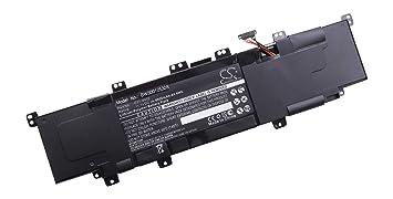 vhbw Batería 4000mAh (11.1V) para Ordenadores portátil ASUS VivoBook S300, S400,