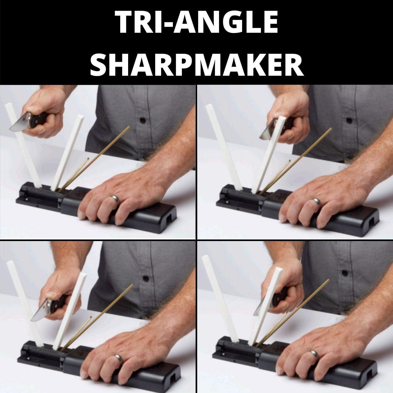 how to use tri angle sharpmaker