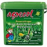 Premium Rasendünger mit Unkrautvernichter gegen Unkraut im Rasen - hochergiebig 5Kg für 250m² Rasenfläche