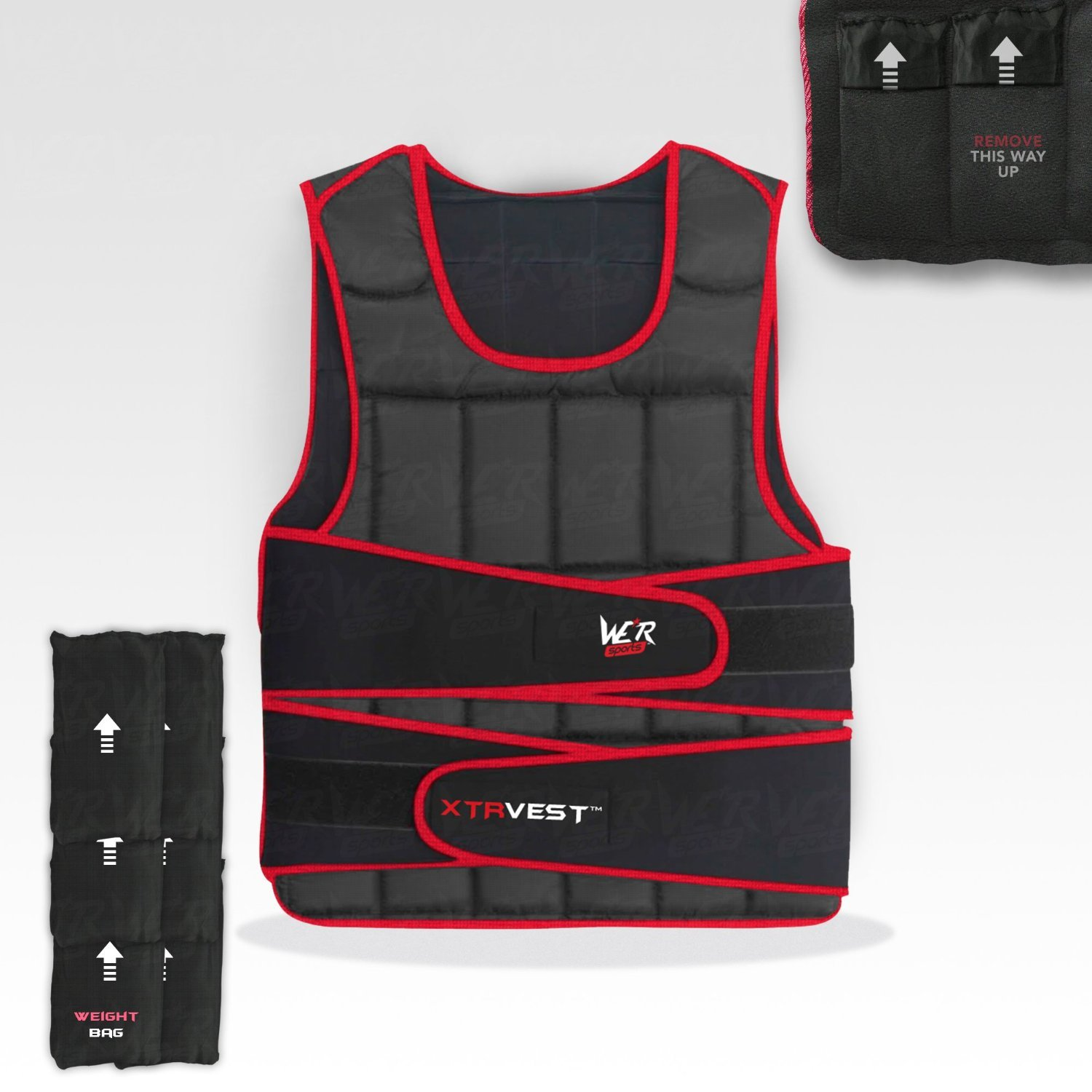 Vest Loss Running 10 Weighted Xtr Weight Gym R We 15 20 Adjustable Training 5 30 Sports™ hQBostrCxd