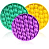Push pop pop Bubble Sensory Fidget Toy, Autism Special Needs Stress Reliever Silicone Stress Reliever Toy, Squeeze Sensory To
