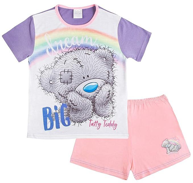 9b9cf7280e7465 GetWivvit Mädchen Schlafanzug kurze Me To You Tatty Teddy Bär Dream ...