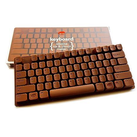 Teclado de chocolate silicona forma – Molde para PC Keyboard de chocolate – También adecuado para