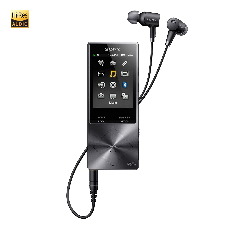 Amazon.com: Sony NWA26HNBM 32GB Hi-Res Walkman Digital Music Player with  Noise Cancelation, Black: Home Audio & Theater