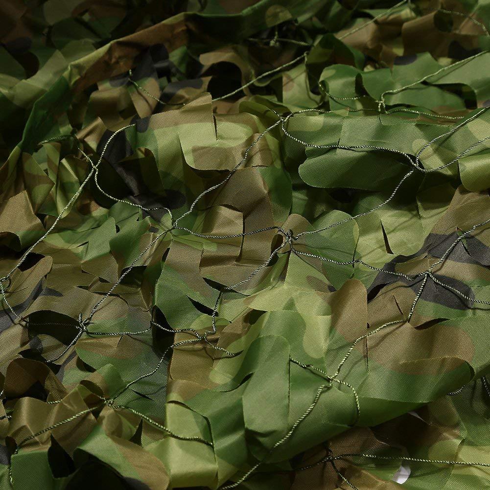 2m×3m迷彩ネットキャンプ軍事狩猟射撃盲目的に隠されたパーティーの装飾の日焼け止めを見て、キャンプの避難所 (サイズ さいず : 6m×6m) 6m×6m  B07MRZJ21Y
