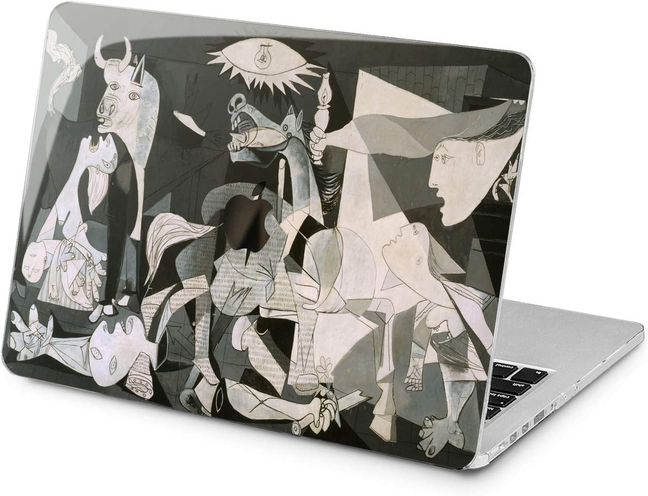 "Cavka Hard Shell Case for Apple MacBook Pro 13"" 2019 15"" 2018 Air 13"" 2020 Retina 2015 Mac 11"" Mac 12"" Design War Guernica Art Laptop Pablo Picasso Plastic Print Cubism Abstract New Cover Protective"