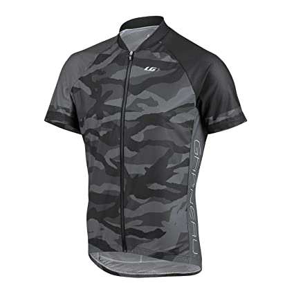130f875db Louis Garneau Men s Diamond MTB Jersey Camouflage Charcoal T-Shirt SM