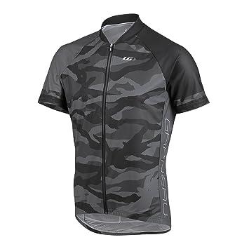 Louis Garneau Men s Diamond MTB Jersey Camouflage Charcoal T-Shirt SM 41ed0d2a7