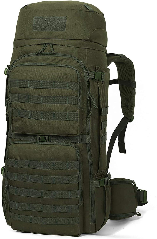Guerrilla Packs Roundhouse Internal Frame Backpack, Middle Grey Dark Grey
