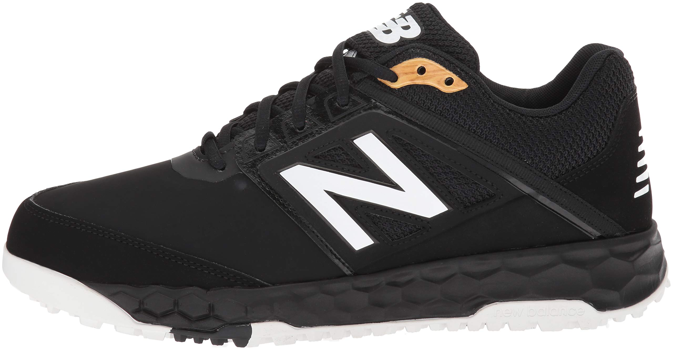 New Balance Men's 3000v4 Turf Baseball Shoe, Black, 5 D US by New Balance (Image #5)
