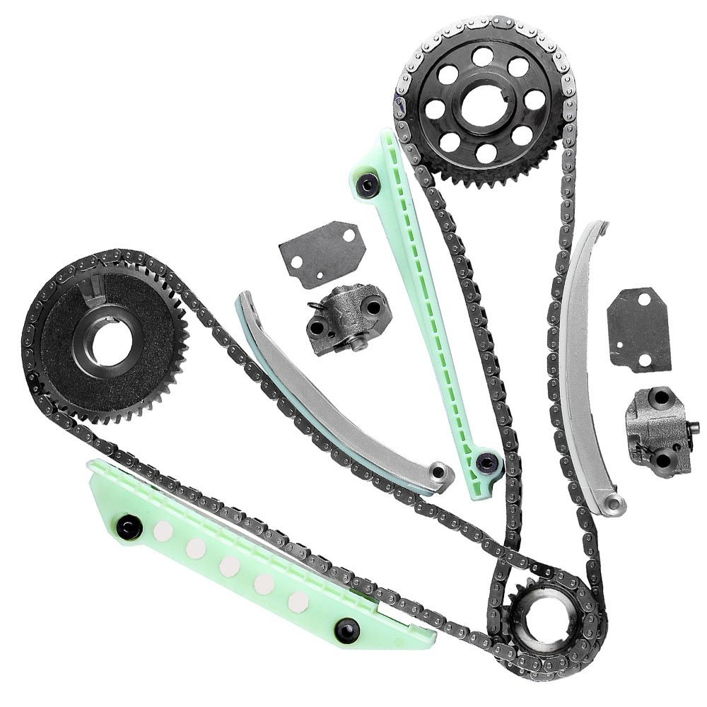 ECCPP TK6046W Fits 97-13 Ford Lincoln Mercury 4.6 4.6L SOHC 16V WINDSOR Timing Chain Kit BHBU0503A4955