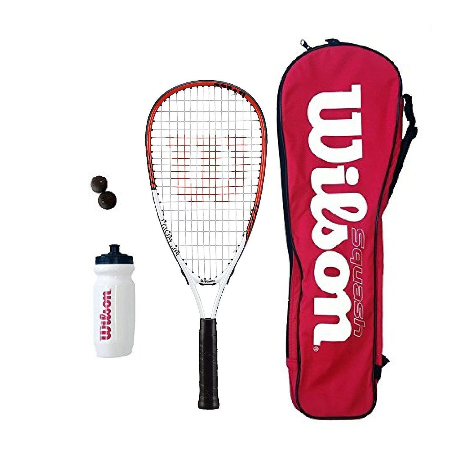 Wilson Tour Junior Squash Raquetas Set Dunlop