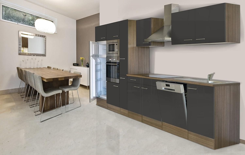 Respekta - Bloque de cocina de 370 cm, madera de roble de ...