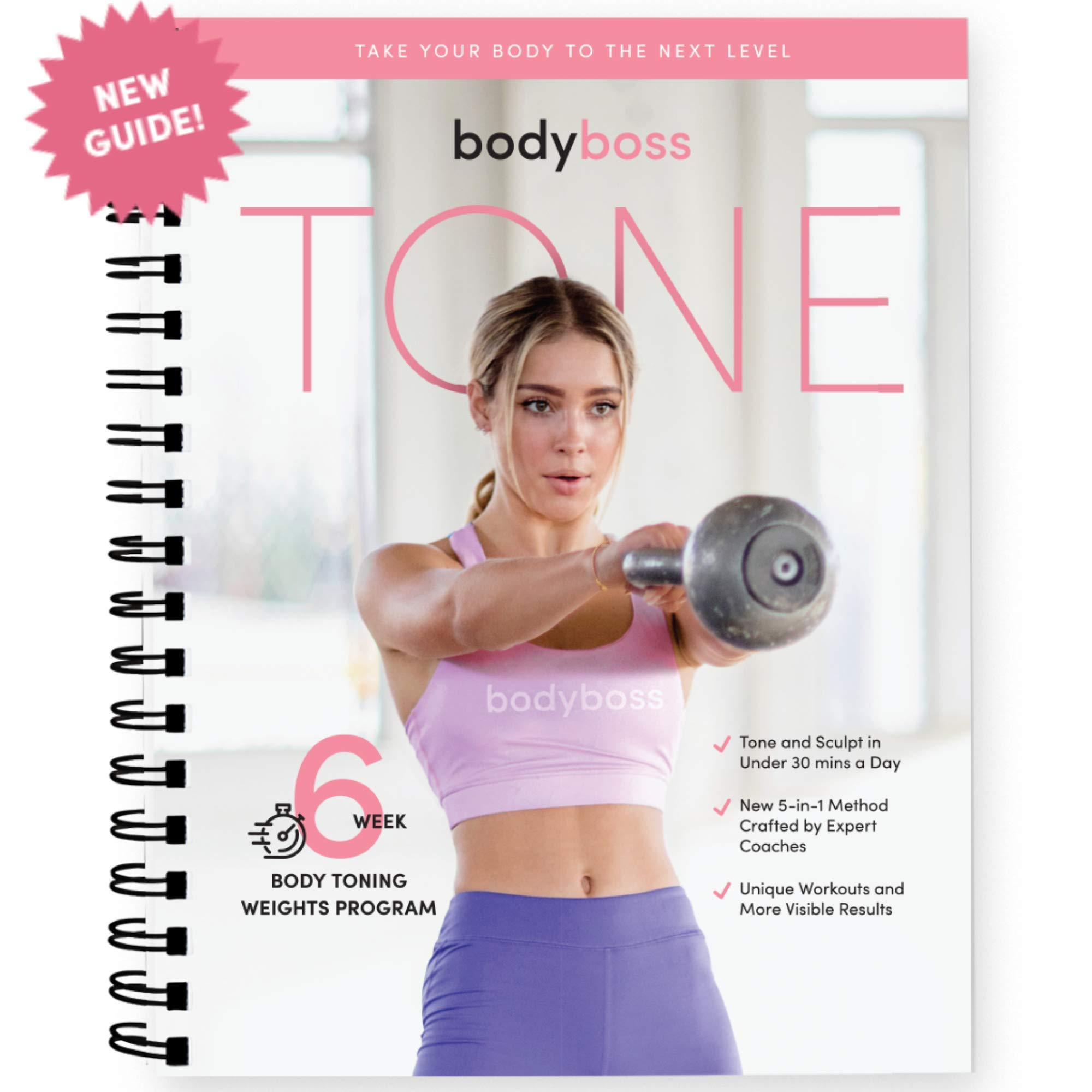 BodyBoss Tone Guide. Weight & Strength Workout Training for Women. by BodyBoss