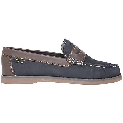 TIMBY , Damen Bootsschuhe blau navy, blau - navy - Größe: 36 EU