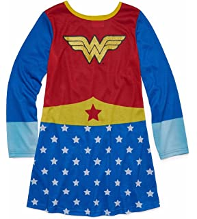 DC Comics Girls Wonder Woman Pullover Nightgown