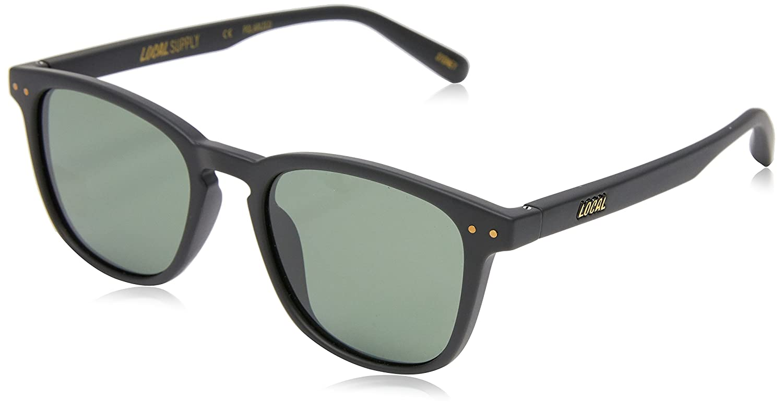 b7163c54e3 Local Supply Men s CITY Polarized Sunglasses - Dark Green Tint Lens ...