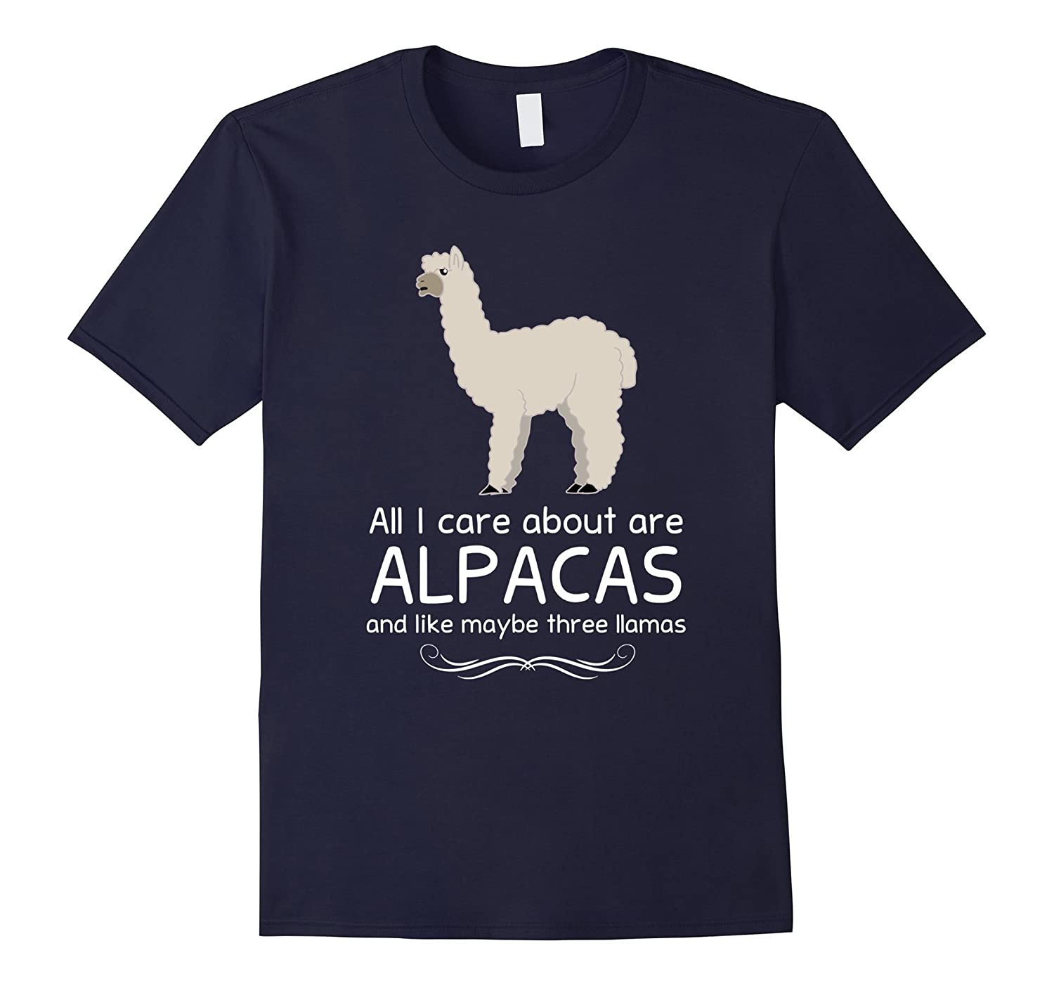 All I Care about are Alpacas and Maybe like Three Llamas-Art