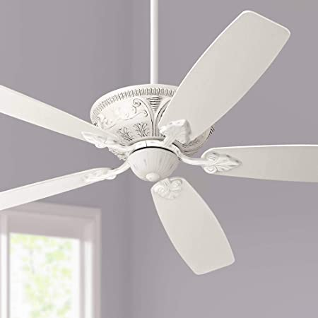 Hunter Indoor Ceiling Fan with light and pull chain control – Astoria 52 inch, New Bronze, 53057