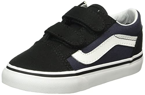 Vans Old Skool V, Botines de Senderismo para Bebés, Negro (Pop Black/Parisian Night), 19 EU: Amazon.es: Zapatos y complementos