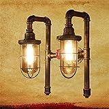 KWOKING Lighting Industrial Wall Sconce Water Pipe