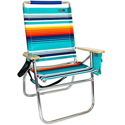 Ordinaire 18u0026quot; High Seat Big Tycoon Beach Chair   Atlantic Sunset