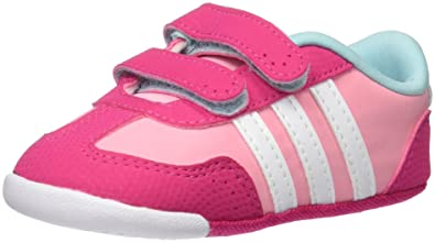adidas Dino Crib - Trainers for Babies-Boys, 16, Pink