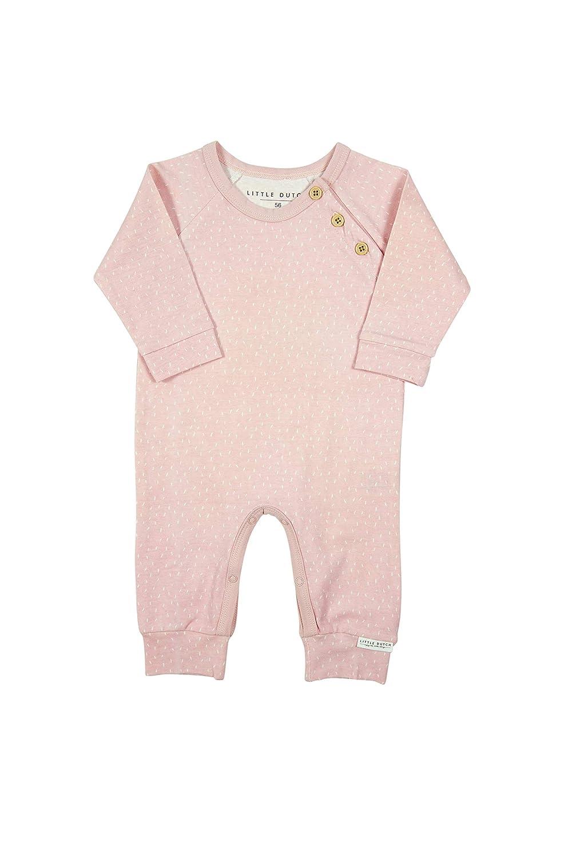 LITTLE DUTCH 180307 Baby-Strampler Overall Sprinkles Adventure pink Gr 68