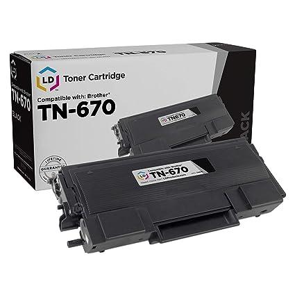 Brother TN-670 Toner Cartridge - Tóner para impresoras láser ...