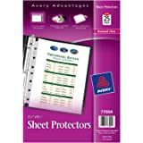 Avery Heavyweight Sheet Protectors, 5.5 x 8.5 Inches