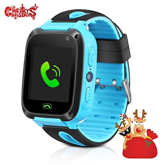 Amazon.com: GPS Tracker Kids Smart Watch, Phone Watch for ...