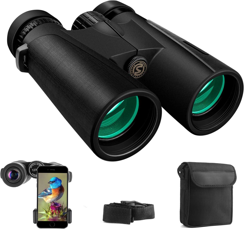 Cayzor 12x42 Compact HD Professional Binoculars