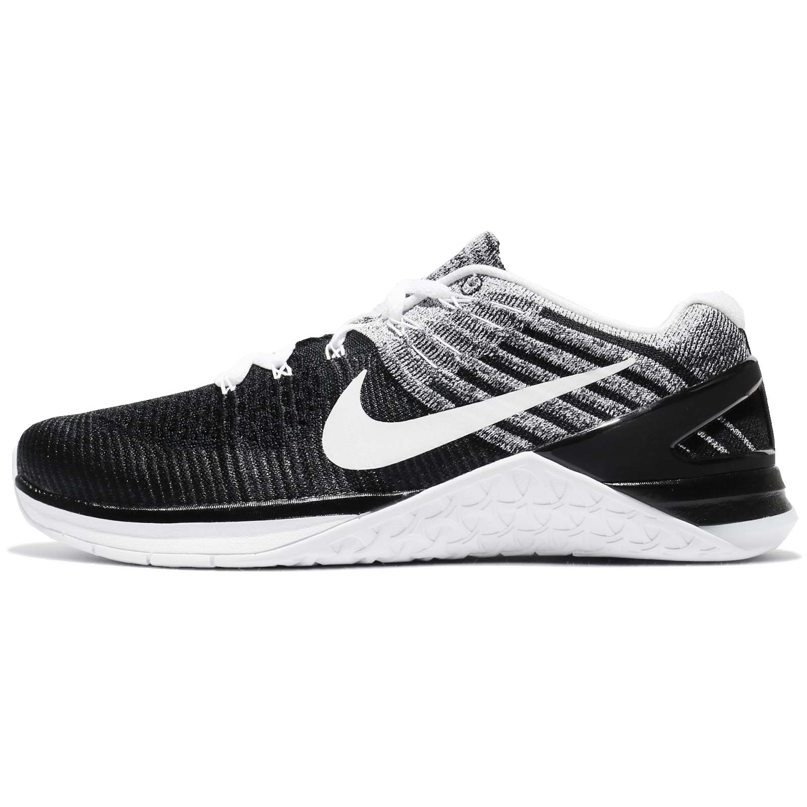 newest 28551 8fce9 Galleon - NIKE Metcon Xds Flyknit Mens Cross Training Shoes Black White  10.5 D(M) US