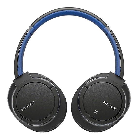 Sony mdr-zx770bt/L Bluetooth inalámbrico auriculares estéreo w/micrófono NFC - Azul (Certificado Reformado): Amazon.es: Electrónica
