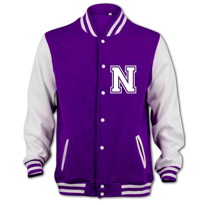 Bang Tidy Clothing Unisex-Adult Niall Horan Fan Jacket Medium Purple 1130