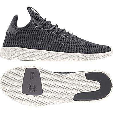 promo code caa93 402b6 Adidas ORIGINALS Pharrell Williams Tennis Hu Baskets, Gris  Amazon.fr   Chaussures et Sacs